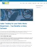 public works blog