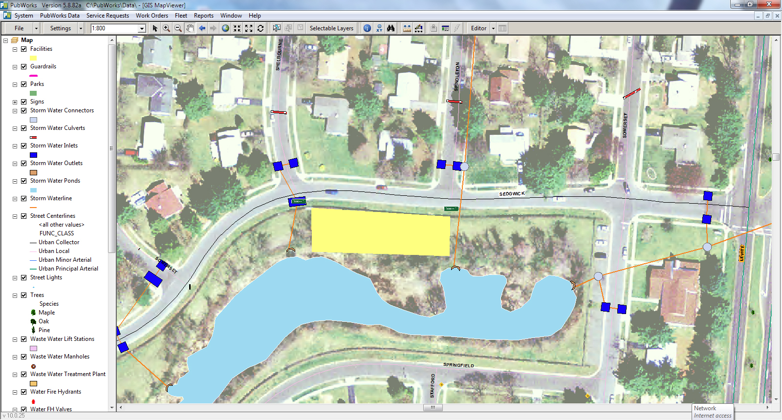 MapViewer Aerial Zoom