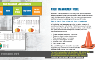 PubWorks Brochure asset management