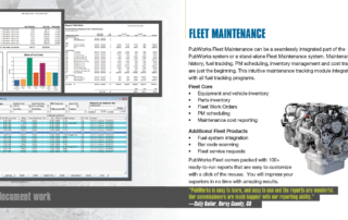 PubWorks Brochure fleet maintenance