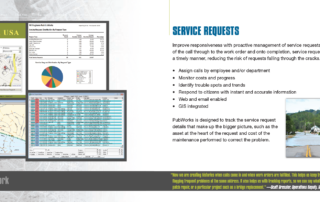 PubWorks Brochure service requests